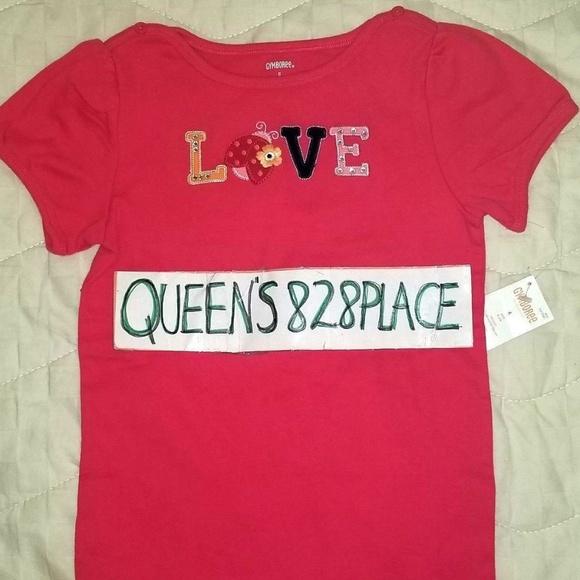 52e47e2f5 Gymboree Shirts & Tops | Nwt Girls 6 Pink Love Ladybug Top | Poshmark